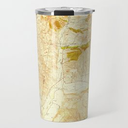 San Clemente, CA from 1949 Vintage Map - High Quality Travel Mug