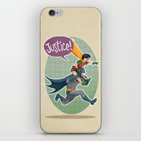justice iPhone & iPod Skins featuring JUSTICE! by stoopz