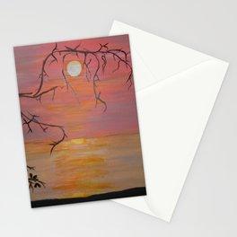 Sunrise Over Lake Malawi Stationery Cards