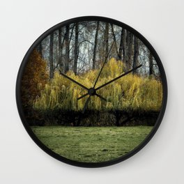 Lovely Willow Wall Clock