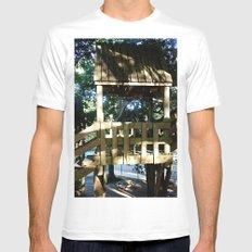 Tree house @ Aguadilla 3 Mens Fitted Tee White MEDIUM