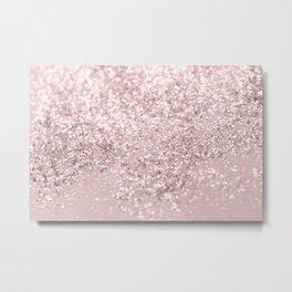 Blush Glitter Dream #1 #shiny #decor #art #society6 Metal Print