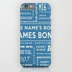 Bond Blue Slim Case iPhone 6s