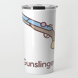 Cute Dungeons and Dragons Gunslinger class Travel Mug