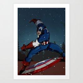 Steve Rogers - Captain Art Print