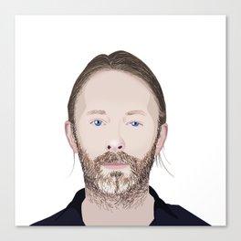 Thom Yorke Vector Canvas Print