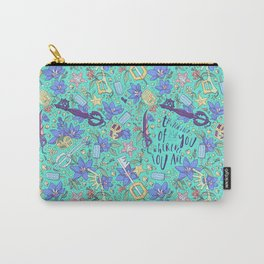 Kingdom Hearts Floral Carry-All Pouch