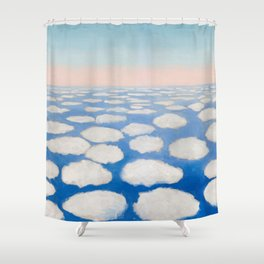 Georgia O'Keeffe Above the Clouds Shower Curtain