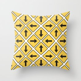 Any Which Way Throw Pillow