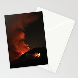 El Diablo Fire Stationery Cards