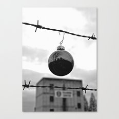 Festive security Canvas Print