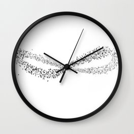 Murmuration Wall Clock