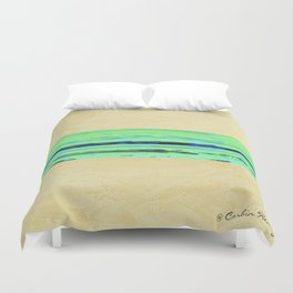 Modern Movement 001 - Signed - Abstract Landscape Canvas Art - Comforters - Bedding - Metal Prints Duvet Cover