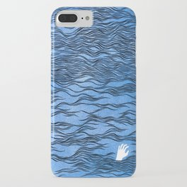 Man & Nature - The Dangerous Sea iPhone Case
