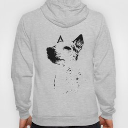 Potrait of a Jack Russell Terrior Hoody