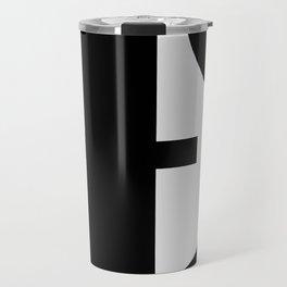 Hidden Letters. Baskerville T Travel Mug