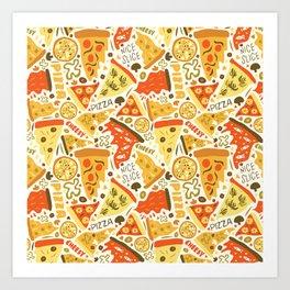 Nice Slice Art Print