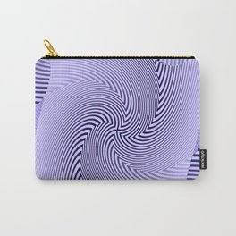 Twirled Stripes Carry-All Pouch