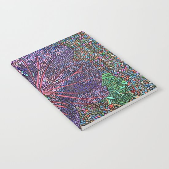 Purple Flower Notebook