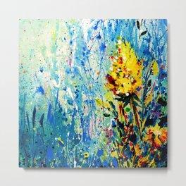 Floral Dream 2 by Kathy Morton Stanion Metal Print