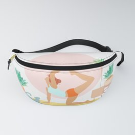 'Rise and Shine' Yoga Girl Power Fanny Pack