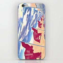 Elephant Finds Water iPhone Skin