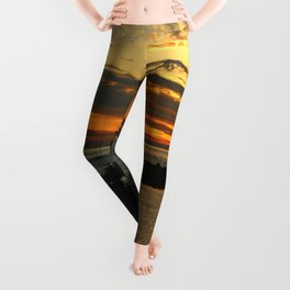 The End Of A Beautiful Day Leggings