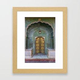 Beautiful Doorways Framed Art Print