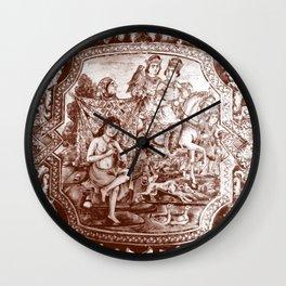 Persian Love Story Wall Clock