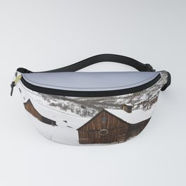 Snow Covered Cabin - Carol Highsmith Fanny Pack