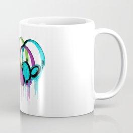 Colorful Headphones Coffee Mug