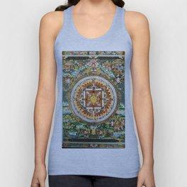 Buddhist Mandala White Tara Unisex Tank Top