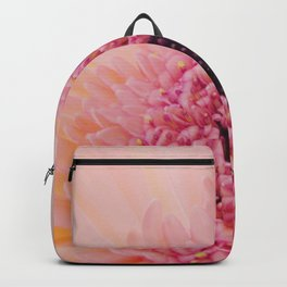 Pink Germini Close up 2 Backpack
