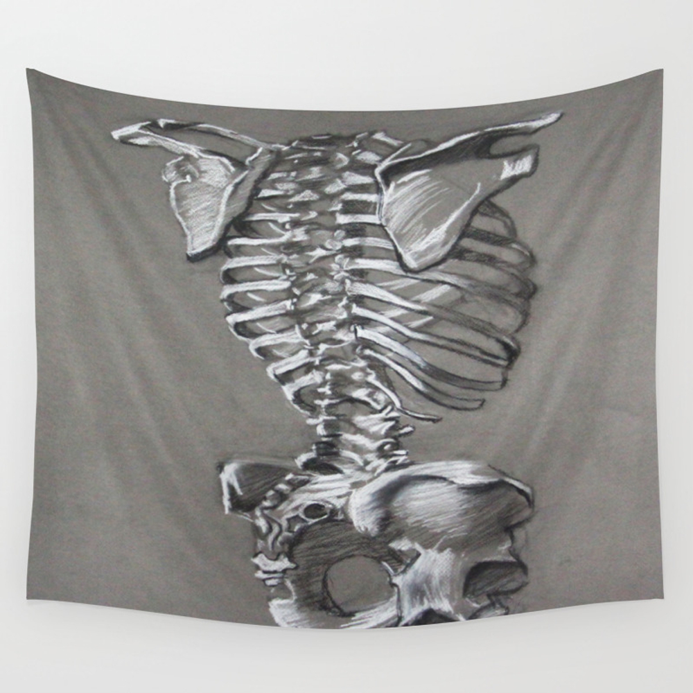 Anatomical Study #1 Wall Tapestry by Candicelicalzi TPS3679216