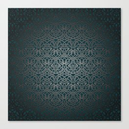 Jasmine Celtic Knotwork Canvas Print