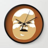 brazil Wall Clocks featuring Brazil by FilmsQuiz