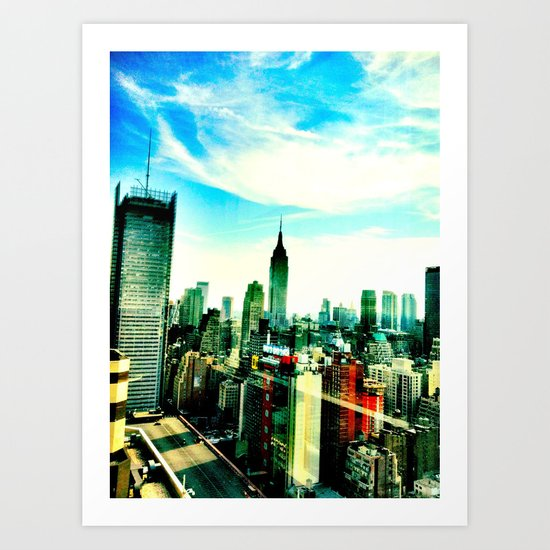 New York by iPhone 1 Art Print
