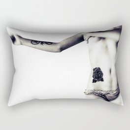 bleeding dreams Rectangular Pillow