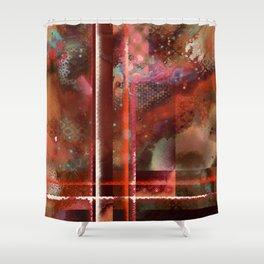 Firey Shower Curtain
