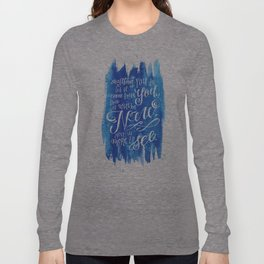 You Keep Moving On [Sunday In The Park With George] Long Sleeve T-shirt