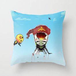 eggdad Throw Pillow