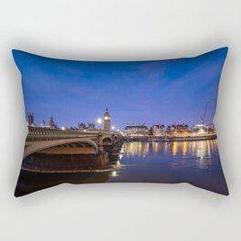 London England Rectangular Pillow