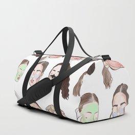 Spa Day Duffle Bag