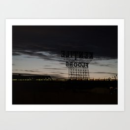 Brooklyn: Kentile Floors Art Print