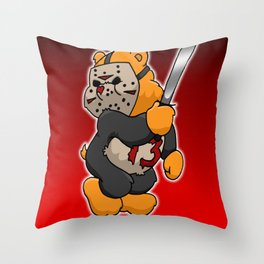 Jason Bearhees Throw Pillow