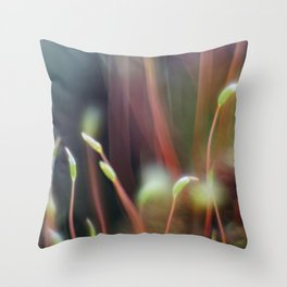 Macro-painting Throw Pillow