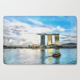Hotel Marina Bay Sands and ArtScience Museum, Singapore Cutting Board