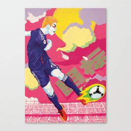 Balls of Fire Canvas Print