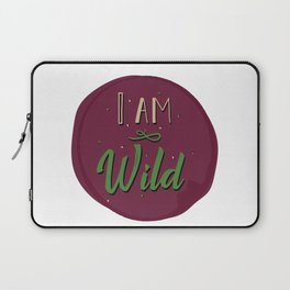 """""""I am wild,"""" replied Grantaire. Laptop Sleeve"""