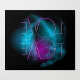 evol – Universe Canvas Print